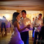Walc świetlisty na weselu