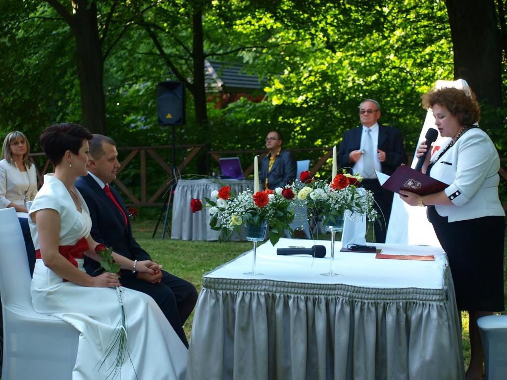 Ślub plenerowy Małgorzaty i Krzysztofa