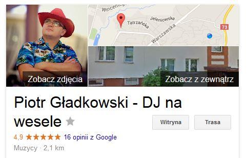 Piotr Gładkowski Opinia